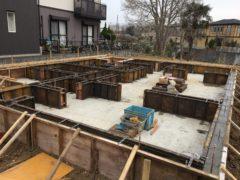 守谷市 一般住宅基礎工事
