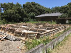 稲敷市 木造基礎工事