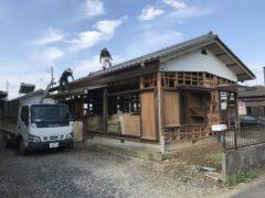 阿見町 木造解体工事